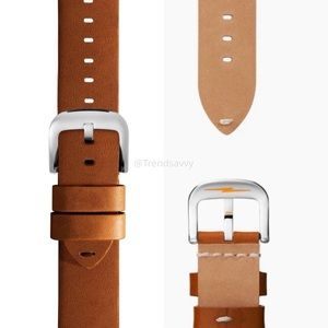 Shinola Interchangeable Leather Watch Strap 18mm
